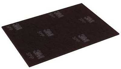 3M SPP12X18 Stripping Pad,12 In x 18 In,Maroon,PK 10
