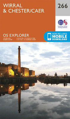 Wirral and Chester Explorer Map 266 Ordnance Survey