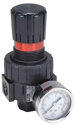 PARKER 06R218AC Air Regulator,3/8 In. NPT,60 cfm,250 psi