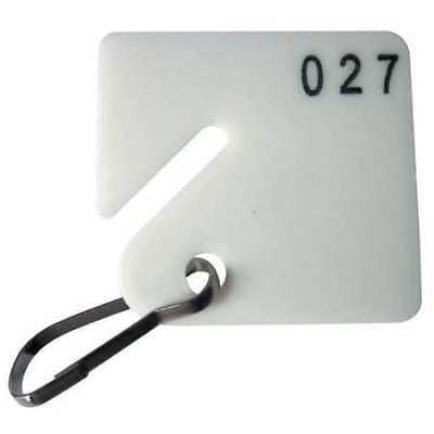 GGS_31370 Key Tag Numbered 1 to 100, Square, PK 100