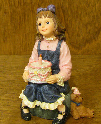 Boyds Dollstone #3591 KAITLYN...MAKE A WISH, 1st Ed From Retail Store BIRTHDAY