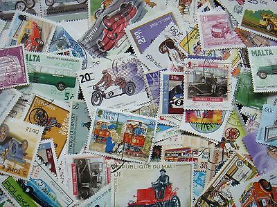 TRANSPORT Stamps Thematics 10 grams Whole World Mixed CTO's & Genuine Postage