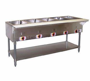 APW Wyott SST-3-208 Champion 3 Sealed Well Electric Steam Table 208v