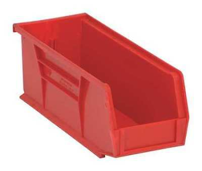 "Red Hang and Stack Bin, 10-7/8""L x 4-1/8""W x QUANTUM STORAGE SYSTEMS QUS224RD"