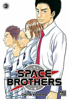 Space Brothers T03 Pika Chuya Koyama Pika Seinen Francais 224 pages Broche Book