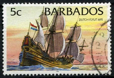 Barbados 1994-98 SG#1029B 5c Ships Definitive With 1998 Imprint Date Used#D43145