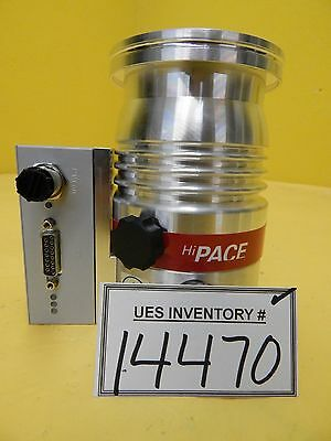 HiPace 80 Pfeiffer PM P03 940 A Turbomolecular Pump with TC 110 Refurbished