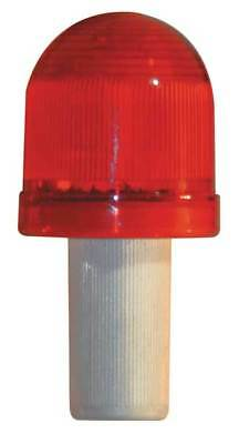 Safety Cone ,LED Flashing,Red,Plastic ZORO SELECT 3393-00002