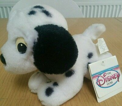 Dalmation soft toy with tag