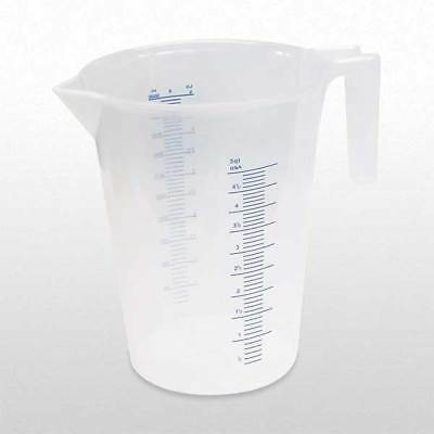 FUNNEL KING 94160 Measuring Container, Fixed Spout, 5 Quart