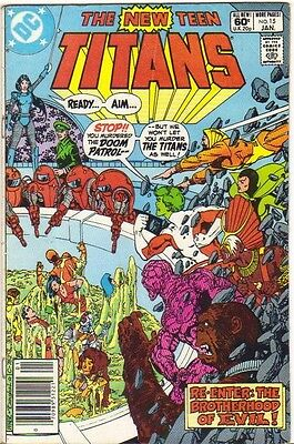 The New Teen Titans #15 VG (1982) DC Comics