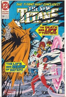 The New Titans #84 FN (1992) DC Comics