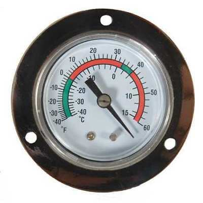 1EPE3 Analog Panel Mt Thermometer, -40 to 60F