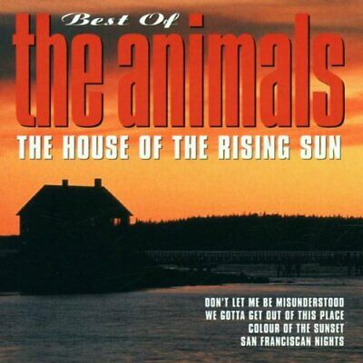 Animals, the : Best of: House of the Rising.. CD Expertly Refurbished Product