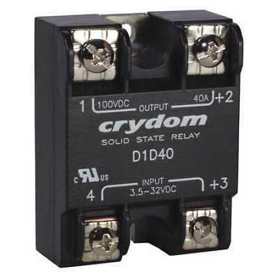 CRYDOM D1D12 Solid State Relay,3.5 to 32VDC,12A