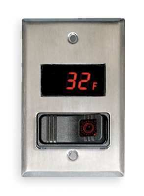 Light Switch Thermometer,-40 to 230 WEISS 24DT-L4F0