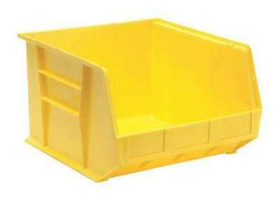 "Yellow Hang and Stack Bin, 18""L x 16-1/2""W x QUANTUM STORAGE SYSTEMS QUS270YL"
