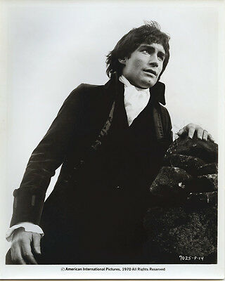 Timothy Dalton original publicity portrait as Heathcliff Wuthering Heights