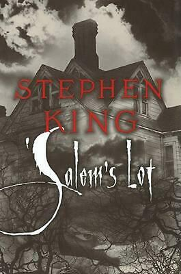 Salem's Lot by Stephen King (English) Hardcover Book Free Shipping!