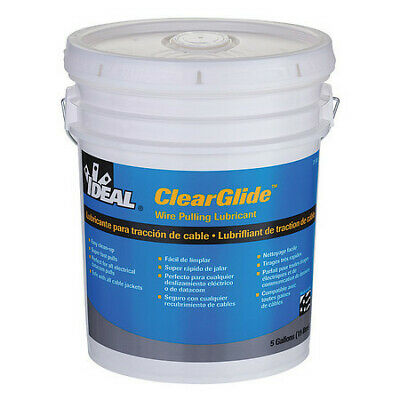 Wire Pulling Lubricant,5 gal. Bucket,Clr IDEAL 31-385