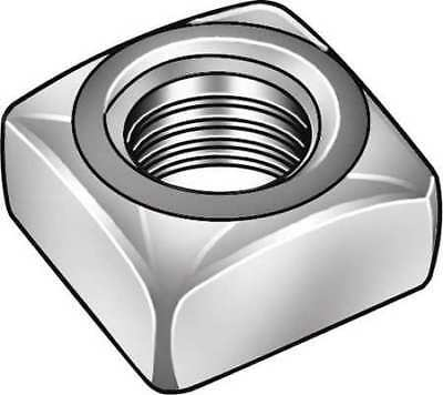 "1/2""-13 Steel Hot Dip Galvanized Finish Square Nut - Regular, 50 pk., 1XA98"