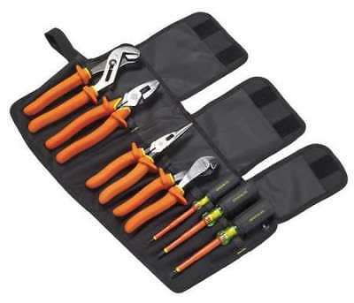 Insulated Tool Set,7 pc. GREENLEE 0159-01-INS