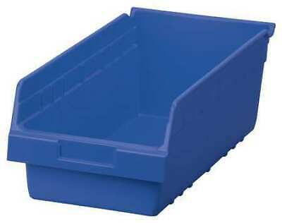 Shelf Bin, 17-7/8 In. L,8-3/8 In. W,6 In H AKRO-MILS 30088BLUE