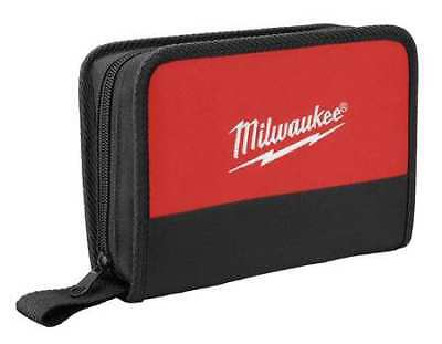 MILWAUKEE 48-55-0170 Carrying Case, Nylon, Black/Red