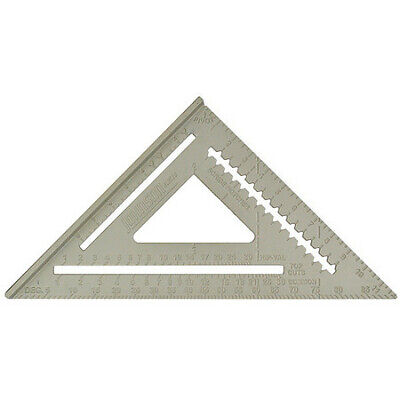 """Rafter Angle Square, 12"""",Milled Aluminum, Johnson, RAS120"""