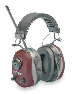 ELVEX COM-660 Earmuff, Headband, AM/FM, Red