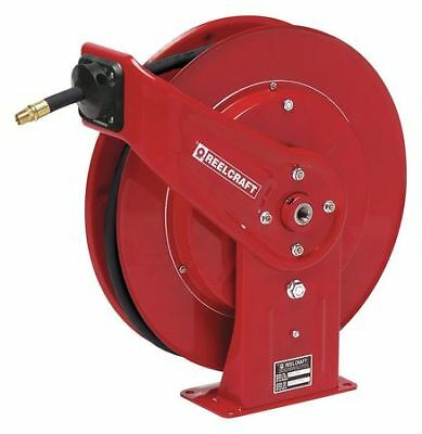"3/8"" x 50 ft. Spring Return Hose Reel with Hose 5000 psi REELCRAFT PW7650 OHP"
