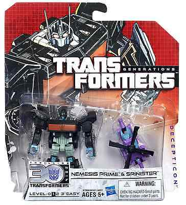 Transformers Generations Legends Figure 30Th Anniv Nemesis Prime & Spinister