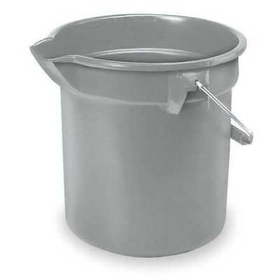 Brute Bucket,3-1/2 gal.,Gray