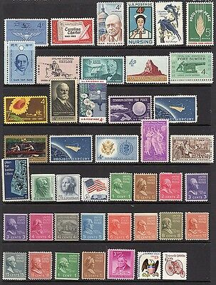 United States - 170 mint stamps