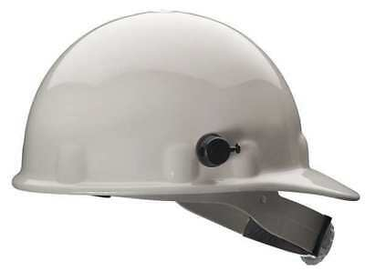 FIBRE-METAL BY HONEYWELL E2QRW01A000 Hard Hat,Front Brim,G/C,Ratchet,White