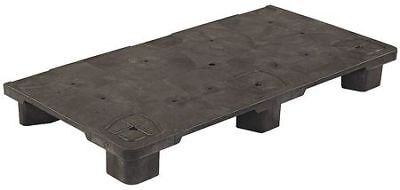 Pallet,48 in. L x 24 in. H,Black ZORO SELECT 24X48 MODULAR POP PALLET