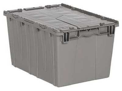 Attached Lid Container, Tote, Gray ORBIS FP171 GRAY