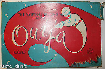 The Mystical Talking Board Ouija Vintage Copp Clark Game in a Damaged Box