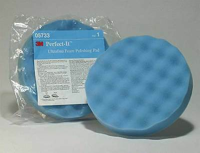 3M 5733 Polishing Pad With Waffle Face, 8 In, Foam