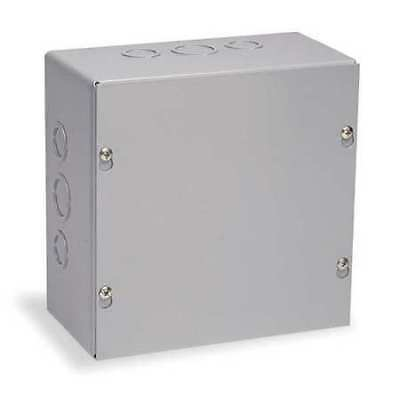 WIEGMANN SC101004 Junction Box Enclosure, 10InHx10InWx4In D
