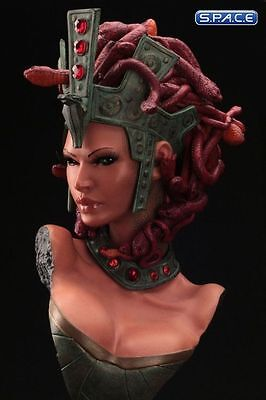 1/2 Scale Medusa Bust Beastly Beauties Hand Made Object