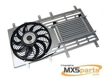 IL Motorsport Radiator Fan & Oil Cooler Kit, MX5 Mk2/2.5 Eunos