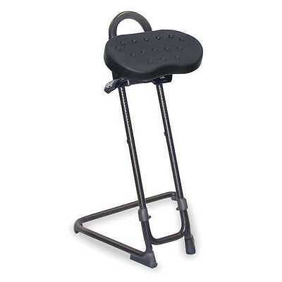 """Lyon Sit/Stand Stool, Height Range 23-1/2"""" to 33-1/2"""", NF2092N"""