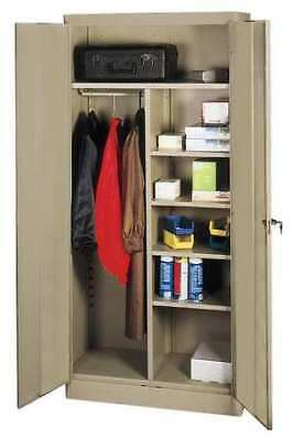 1UFA5 Combination Storage Cabinet, 72x36, Sand