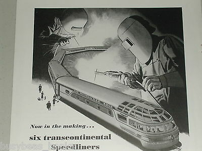 1946 Milwaukee Road advertisement, Post WWII Olympian Hiawatha coming soon