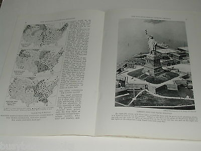 1924 magazine articles AVIATION 1st Non-stop flight across USA, airplane history