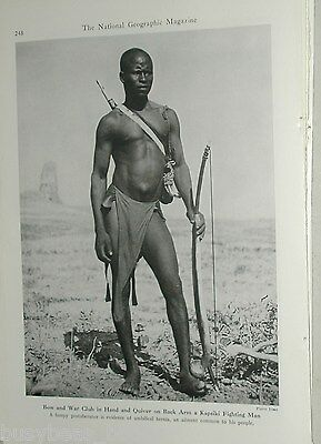 1947 magazine photo article, CAMEROON natives, Bamileke, Bantu, Africa
