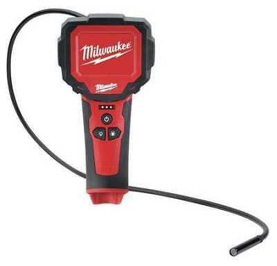 MILWAUKEE 2313-20 Video Borescope, 2.7 In, 36 In Shaft
