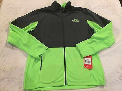 77fdbcd20 THE NORTH FACE Men's Tech 100 Hybrid Fleece Jacket Green Size Large NWT  85.00