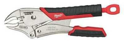 "MILWAUKEE 48-22-3410 10"" TORQUE LOCK™ Curved Jaw Locking Pliers with Grip"